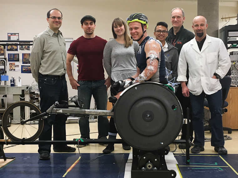 Biomechanical Study Of Racing Wheelchair Propulsion Mobility And Adaptive Sports Research Lab
